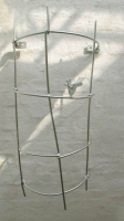 Rankgitter mit Vögeln aus feuerverzinktem Stahl