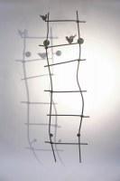 Rankgitter aus 12 mm verzinktem und lackiertem Rundstahl