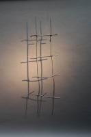 Rankgitter aus feuerverzinktem 12 mm Rundeisen