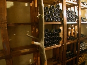 Regal für einen Weinkeller