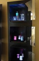 Regale für gelaserte Glaskavernen für die SOCON Kavernenvermessungs GmbH