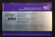 SIEgER - Gerechte Chancen in der Arbeitswelt, wir durften die Preise fertigen