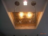 vergoldete Reflektorenblech für serielle Leuchten