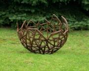 Skulptur Stahl geschweißt