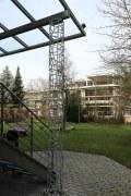 transparente Säulen und Stützen mit der Schmitzstruktur