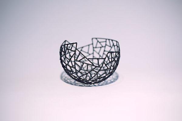 Schale aus 1,5 mm Stahl