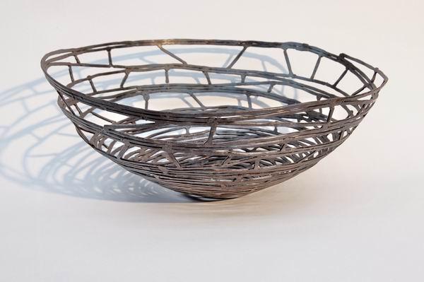 Schale aus Stahl geschweißt und geschmiedet - Einfach schön ...