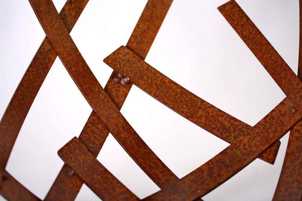 rostige schale aus 5mm gelasertem stahlblech. Black Bedroom Furniture Sets. Home Design Ideas