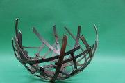 Schalen Objekt aus 5mm  Stahl im Durchmesser von ca. 60 cm