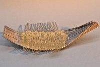 astreine Schale aus einem Eisen und Messing Geflecht