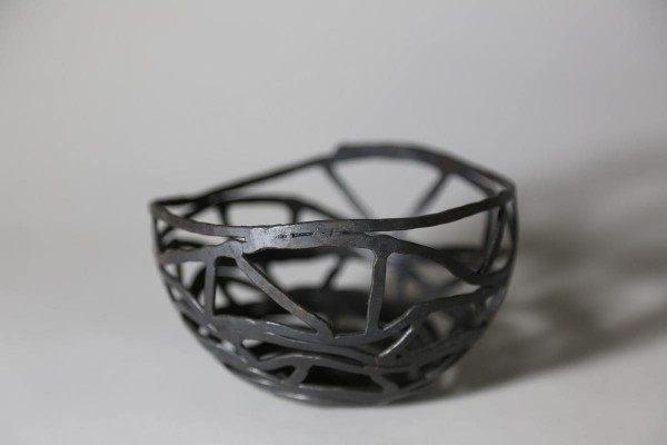 Diese Schale ist  aus einer Spiralform entwickelt