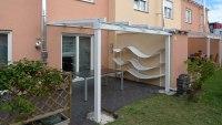Verschiebbares Terrassendach - Glasschiebedach