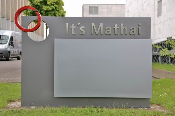 Schilder für It´s Mathai