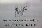 Werbetafel aus Corten Stahl (klein)