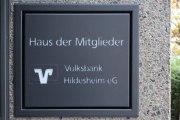 hinterleuchtete Schilder  für die Volksbank Hildesheim