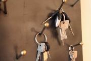 Schlüsselboard aus 3 mm Stahlblech