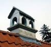 Schornsteinabdeckung in Form eines Hauses