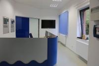 Schreibtischblende für die  Harzwasser Werke (HWW)