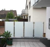 wind und sichtschutz mit glas oder acrylglas seite 2. Black Bedroom Furniture Sets. Home Design Ideas