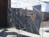 Besonderer Sichtschutz für eine Terrasse vor dem Verzinken