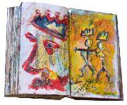 Bilder, Gemälde und Skizzenbücher von Peter Schmitz