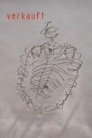 Torso - Skulptur aus 5 mm Rundstahl