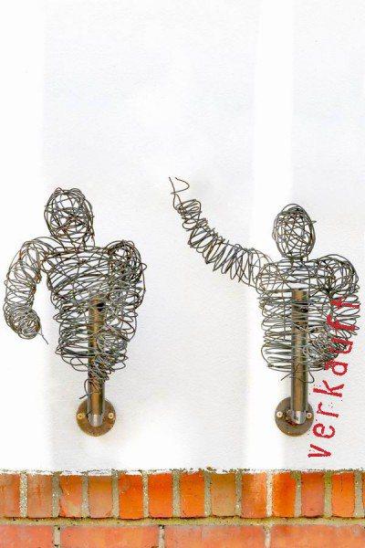 Draht Skulptur aus Stahl