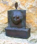 Skulptur Dicke Frau