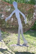 Skulpturen aus 8 mm Stahlblech plasmagetrennt, Preis pro Stück