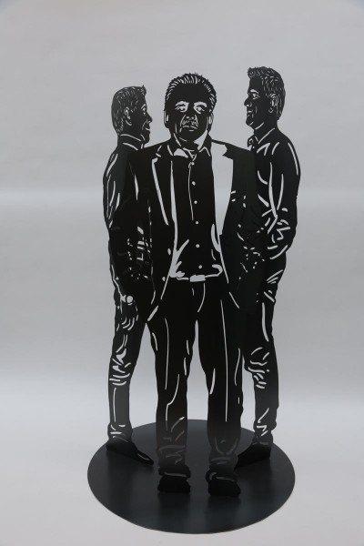Gelaserte Skulpturengruppe nach Kunden Fotos gefertigt