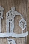 Skulpturen für die Stadt Peine am Platz unter der Nord-Süd Brücke