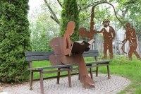Zaunskulpturen für die Socon Kavernenvermessung GmbH in Emmerke