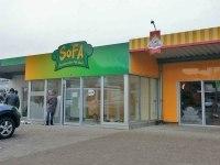 Werbung für das SOFA - Schöner Ort für Alle