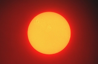 riesige Sonnenflecken am 24.09.20011