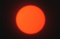 schöne Sonnenprotuberanzen am 25.09.20011 im h-alpha Licht