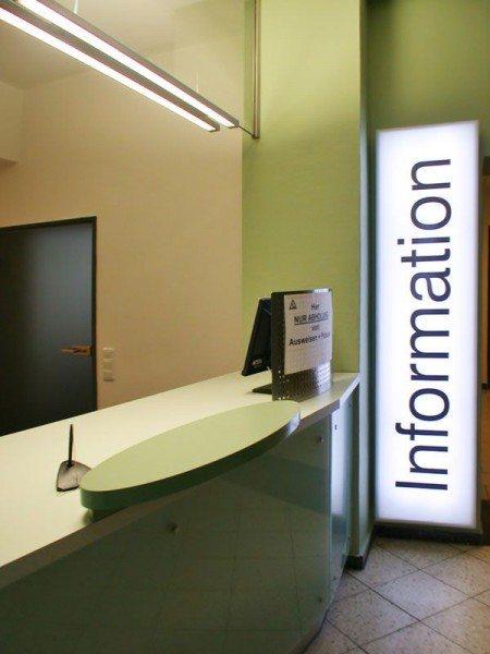 Informationsstelle Hildesheim, hier noch Baustellenfotos