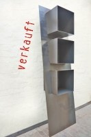 Stahlregal mit drei Körpern aus 3 mm Stahlblech