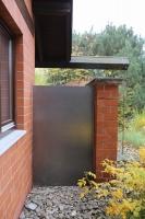 Stahltüre aus 2 mm Stahlblech