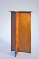 Quadratisches Tischuntergestell aus 12 mm Corten Stahl