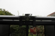Entstehung einer Sternwarte  -  Rolldachhütte ohne seitliche Stützen