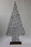 Weihnachtsbaum punktgeschweißt aus 4 mm Rundeisen