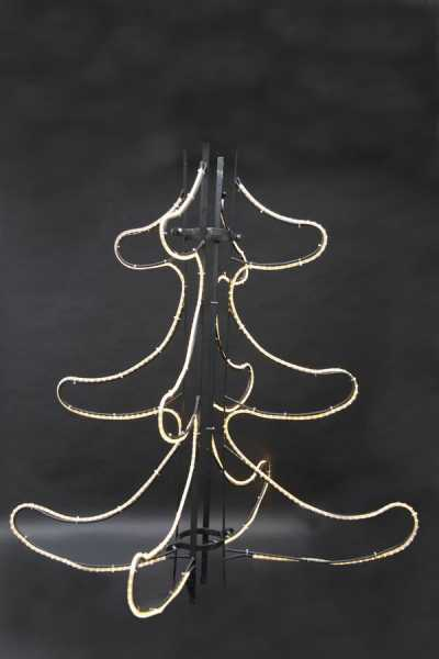 vierteiliger Leucht Tannenbaum für das Outback im Winter-Zoo 2011