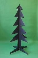 Tannenbaum aus 3mm Stahlblech plasmagetrennt