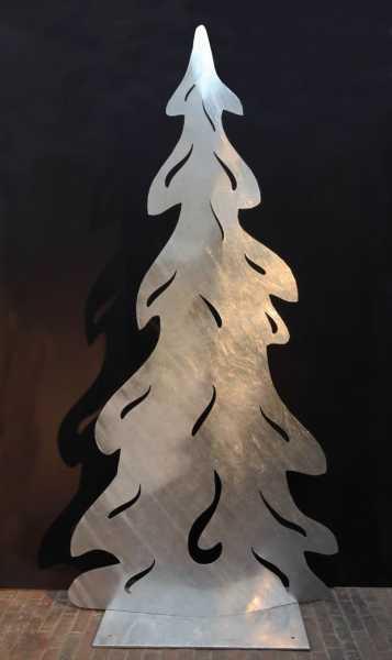 Tannenbaum aus 3mm verzinktem Stahlblech