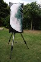 """Schutzhülle gegen Regen und Tau für ein 10"""" Teleskop mit Ihrem eigenen Foto"""