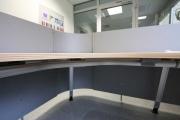 Arbeitsplatz- und Tresenverkleidung aus lackiertem Stahl für die Harzwasserwerke