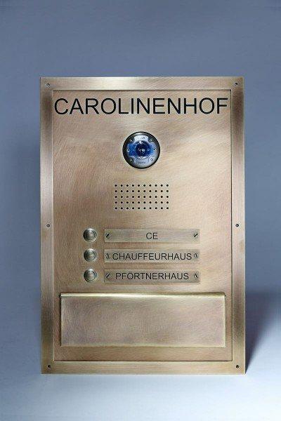 Tombak Briefkasten Carolinenhof