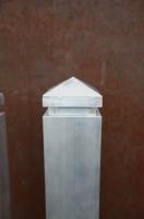 Torpfosten aus Aluminium