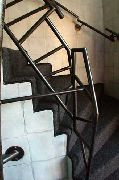 Treppengeländer - Stahlrohr