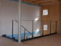 Treppe und Geländer aus gelasertem Stahl für den neuen Showroom der Fa. Klimmt in Hildesheim